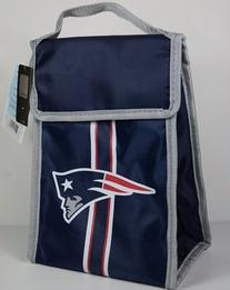 NFL New England Patriots Velcro Lunch Bag