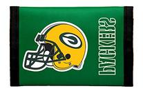 NFL Green Bay Packers Nylon Trifold Wallet