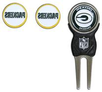 NFL Green Bay Packers Signature Divot Tool and 2 Extra