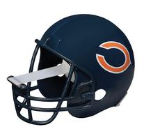 NFL Helmet Tape Dispenser, Chicago Bears, Plus 1 Roll Tape 3