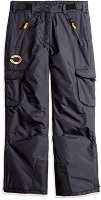 NFL Chicago Bears Men's Insulated Cargo Snow Pants, Chicago