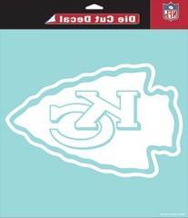 Cincinnati Bengals 4 x 17 White Letters Decal
