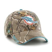 NFL Miami Dolphins '47 Frost MVP Camo Adjustable Hat, One