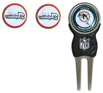 NFL Miami Dolphins Signature Divot Tool and 2 Extra Markers