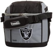 NFL Oakland Raiders 24 Can Soft Sided Carry Coleman Cooler
