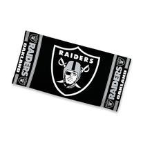"NFL Oakland Raiders 30"" x 60"" Logo Beach Towel - Black"