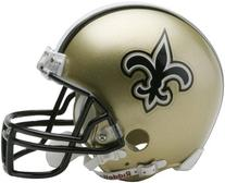 NFL New Orleans Saints Replica Mini Football Helmet