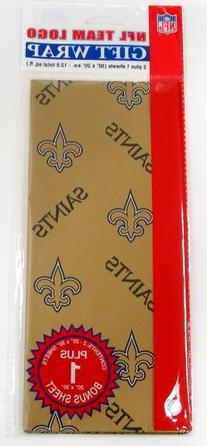 NFL New Orleans Saints Wrapping Paper