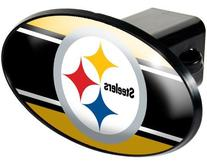 NFL Oval Hitch Cover: Pittsburgh Steelers