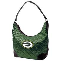 NFL Green Bay Packers Team Color Quilted Hobo
