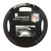 NFL San Diego Chargers Poly-Suede Steering Wheel Cover