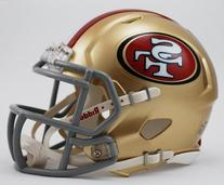 Riddell Revolution Speed Mini Helmet - San Francisco 49Ers