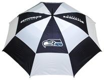 NFL Seattle Seahawks 62-Inch Double Canopy Umbrella