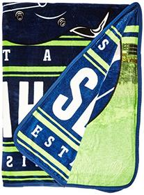 The Northwest Company NFL Seattle Seahawks Stacked Silk