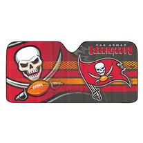 NFL Tampa Bay Buccaneers Universal Auto Shade, Large, Red