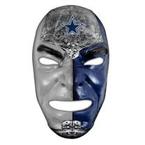 Franklin Sports NFL Dallas Cowboys Team Fan Face Mask