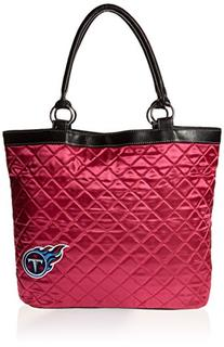 NFL Tennessee Titans Pink Quilted Tote