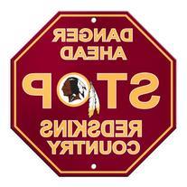 NFL Washington Redskins Stop Sign