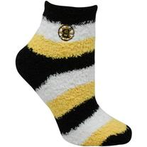 NHL Women's Boston Bruins Pro Stripe Sleep Soft Sock