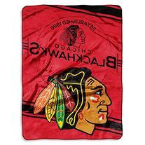 """Northwest Company - Chicago Blackhawks 60""""x80"""" Royal Plush"""