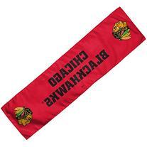"""NHL Chicago Blackhawks Cooling Towel, 8 x 30"""", Team Color"""
