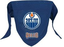 NHL Edmonton Oilers Pet Bandana, Team Color, Large