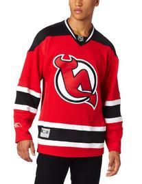 Men's Red New Jersey Devils Hockey  Jersey - XL