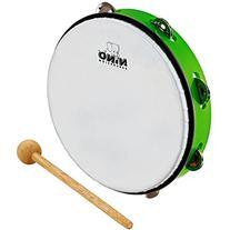 Nino Percussion NINO24GG 10-Inch ABS Plastic Tambourine with