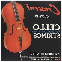 Nickel Silver Wound Cello Strings 4/4 Set