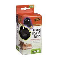 Night Black Heat Incandescent Bulb for Reptiles Watt: 50