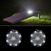 Cornhole Lights Set White