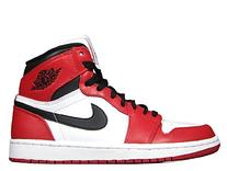 Jordan Men's Air 1 Retro High OG, CHICAGO-WHITE/BLACK-