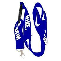 Nike Royal Blue Cell Phone Lanyard Keys ID MP3 Holder Neck