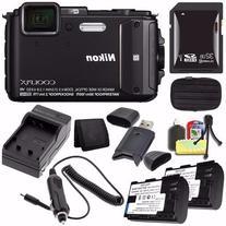 Nikon COOLPIX AW130 Waterproof Digital Camera  -