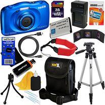 Nikon COOLPIX S33 Waterproof & Shockproof 13.2 MP Digital