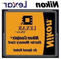 Nikon Lexar Media 16MB 8x CompactFlash  Memory Card