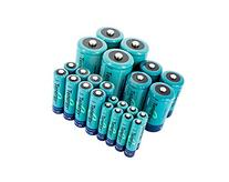 Tenergy High Drain AA AAA C and D Battery, 1.2V Rechargeable