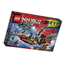 LEGO Ninjago 70738 Final Flight of Destiny's Bounty Building