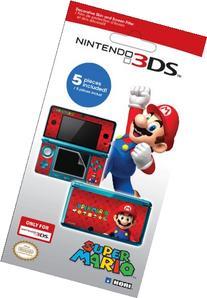 Nintendo 3DS Decorative Skin and Filter - Super Mario