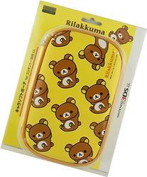 Nintendo Official Kawaii 3DS XL Soft Case -Rilakkuma・Rilakkuma