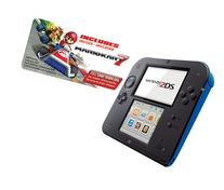Nintendo 2DS Portable Console with Mario Kart 7 - Electric