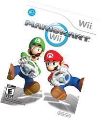 Nintendo RVLPRMCE Mario Kart; Racing, Wii