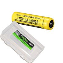 NITECORE NL189 3400mAh Protected 18650 Rechargeable Li-ion