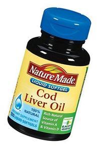 Nm Cod Liver Oil Gel Cap Size 100ct