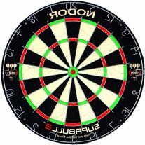 Nodor SupaBull2 Bristle Dartboard Equipped with Easy-Turn