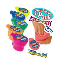 Toysmith Noise Potty Putty Slime Party Set Bundle - 3 Pack
