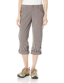 ExOfficio Women's Nomad Roll-Up Pants, Slate, 10