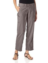 Exofficio Women's Nomad Roll-up Petite Pant, Light Khaki, 16