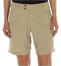 ExOfficio Women's Nomad Short,Light Khaki,10