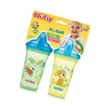 Nuby 2-Pk Non Spill Cup With Hard Top Spout